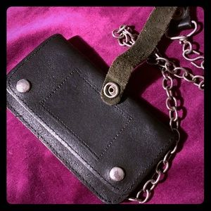 Other - Excellent Condition Leather Chain Wallet